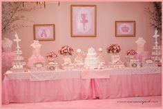 Baby Guide Festa Infantil: Tema Bailarina para Meninas
