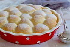 Citromos-túrós labdabukta bögrésen | Rupáner-konyha Wine Recipes, Baking Recipes, Cookie Recipes, Dessert Recipes, Hungarian Recipes, Sweet Desserts, Winter Food, Sweet Bread, Other Recipes