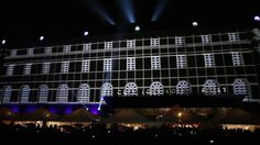 The Clarion Post Hotel Projection in Gothenburg Sweden by Drive