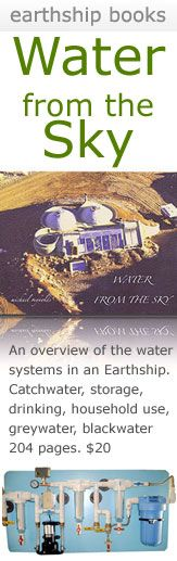 Earthship Water Book. I need to read this book!