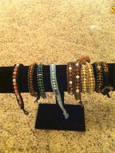 More wrap bracelets