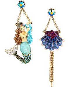 I have these Betsey Johnson mermaid earrings! LOVE THEM !!