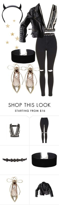 """""""New Years 2016"""" by angels-and-ametrines ❤ liked on Polyvore featuring sass & bide, Topshop, Zara, Miss Selfridge, Steve Madden and Club Exx"""