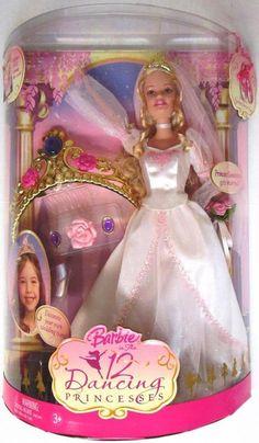 Princess Genevieve Gets Married Barbie Doll (Barbie In The 12 Dancing Princess.. #Mattel
