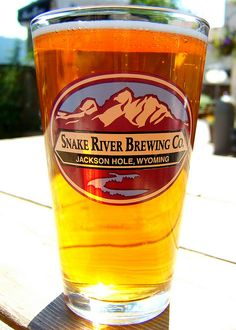 Snake River Brewing Company Beer; Jackson Hole, Wyoming, via Flickr.
