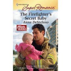 The Firefighter's Secret Baby (Harlequin Super Romance) (Mass Market Paperback)