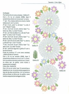 Home Decor Crochet Patterns Part 26 - Beautiful Crochet Patterns and Knitting Patterns Crochet Dollies, Crochet Doily Patterns, Crochet Diagram, Crochet Chart, Thread Crochet, Crochet Motif, Crochet Designs, Crochet Flowers, Crochet Stitches