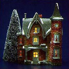 "Department 56: Products - ""Turn Of The Century"" - View Lighted Buildings"