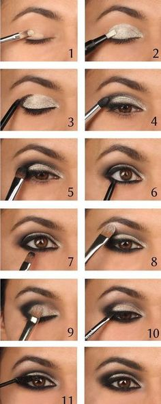 Easy step by step smokey eye tutorial for beginners