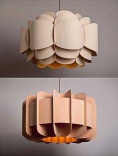 Origami Lampshade, Arch Interior, Lampshades, Mini Albums, Pendant Lighting, Paint Colors, Table Lamp, Simple, Inspiration