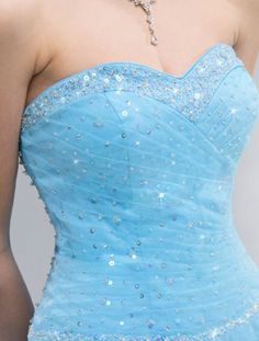 sparkly | Sparkly blue prom dresses pictures 4