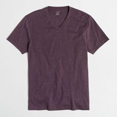 J.Crew Heathered V-neck T-shirt ($12) ❤ liked on Polyvore featuring men's fashion, men's clothing, men's shirts, men's t-shirts, men, mens vneck shirts, men's v neck t shirts, j crew mens t shirts, mens v neck shirts and mens cotton shirts