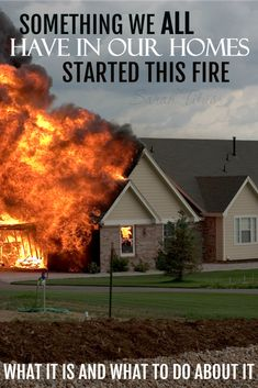 Something We All Have In Our Homes Started This Fire (Kids and Character) - Sarah Titus Home Safety, Safety Tips, The Tables Have Turned, Life Hacks, Fire Kids, Fire Prevention, Up House, Emergency Preparedness, Emergency Planning