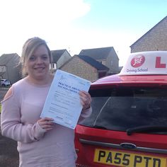 """""""Thank you Pete! Your lessons were fully loaded & I learnt something new every lesson. You took me through step by step, making sure I understood everything. You were patient & understanding & I am so pleased to have passed after nerves got the better of me the first time. Thank you."""" Great test pass for Lauren Harris from Cinderford who passed her driving test on 18th November, 2016 at Monmouth Test Centre. Congratulations from the JSF Driving School team!"""