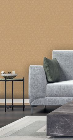 Wonderful Vymura Kilmore Beads Feature Wall Wallpaper In Gold