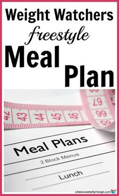Weight Watchers meal plan for Freestyle will help you stay on track. This meal plan includes freestyle SmartPoints for Weight Watchers recipes and is family friendly. #freestyle #ww #smartpoints