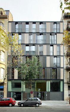 Edificio de Viviendas CASP 74 / Bach Arquitectes | Plataforma Arquitectura