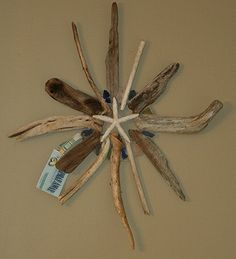 Driftwood wreath  Sea Spray Away