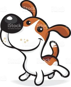 Choose from 60 top Beagle stock illustrations from iStock. Find high-quality royalty-free vector images that you won't find anywhere else. Cartoon Dog, Cartoon Drawings, Easy Drawings, Cute Cartoon, Animal Sketches, Animal Drawings, Rock Painting Designs, Dog Illustration, Free Vector Art