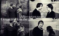Go on and kiss the girl!