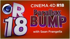 In This Cinema 4D R18 tutorial video, learn about the new Parallax Bump Mapping technique, a new feature for materials in Cinema 4D R18. With Parallax bump m...