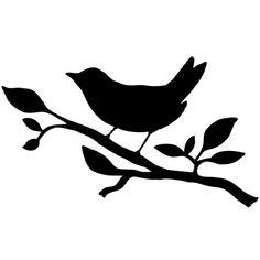 Bird Stencil, Stencil Font, Stencil Patterns, Stencil Designs, Stencils, Music Notes Art, Bird Template, Bird Quilt, Bird Embroidery