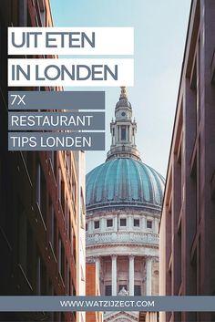 Lekker uit eten in Londen: 7 tips // where to eat in London