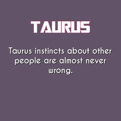 taurus daily astrology fact Astrology