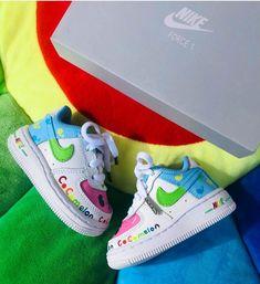 Kids Sneakers, Sneakers Nike, Nike Force 1, Kids Pages, Custom Tags, Baby Feet, Mini, Shoes, Instagram