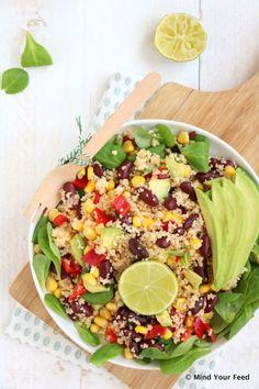 Mexicaanse couscous salade