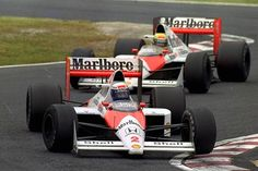 WE ALL KNOW HOW THIS ENDED... ❌ #AlainProst and #AyrtonSenna - #MarlboroMcLarenHonda / #Japan 1989 #ORei #LeProfesseur #Ayrton #Senna #Alain #Prost #Teammates #Battle #F1 #Formula1 #Aboutmotorsport #GP #Race #GrandPrix #Legend #History #Car #Fast #Speed #Idol #Sport