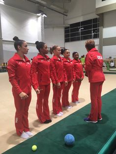 Rhonda Faehn, the Senior Vice President USA Gymnastics, shared the above photo ahead of the competition on Tuesday showing Team USA together in their warm up gear in Rio Team Usa Gymnastics, Gymnastics Party, Gymnastics Posters, Artistic Gymnastics, Olympic Gymnastics, Cheerleading, Gymnastics History, Gymnastics Stuff, Gymnastics Quotes
