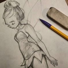 Tinkerbell sketch.