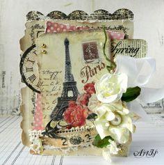 Shabby Paris card