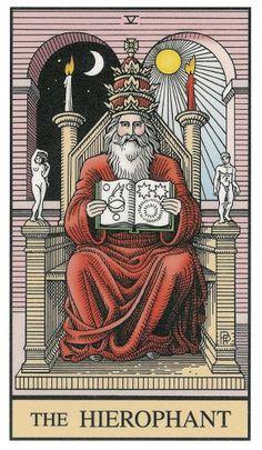 The Hirophant, V of Tarot