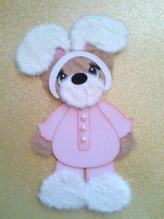 Easter Bunny Girl Costume Kids Summer Tear Bear Kira AP4P | eBay