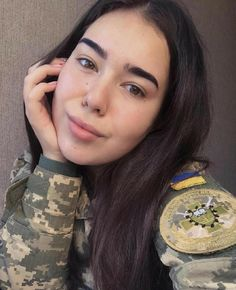 Armed Forces of Ukraine Female Army Soldier, Ukraine Women, Military Women, Poses, Portraits, Real Women, Indian Beauty, Strong Women, Beautiful Women