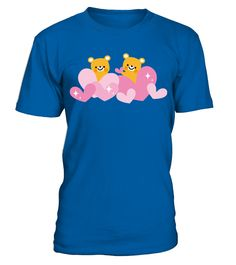 Lovely Hearts Bears Cute Kawaii Valentine's Day Gift T Shirt  Funny lonely T-shirt, Best lonely T-shirt
