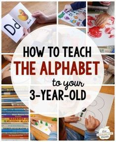 how to teach the alphabet to your 3-year-old
