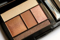 nude and copper makeup color palette - most flattering colors for redheads.