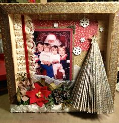 Artful Musings: Christmas canvas class