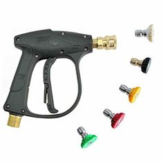 Car Washer Objective 2019 High Pressure Power Watering Washer Gun Electroplated Gold For Washing Car Vehicle Wall Floor Car Washer Gun Car Styling Automobiles & Motorcycles