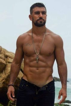 6fd73288f3 Gui Treating, Brazilian actor and model Male Pinup, Hairy Men, Bearded Men,