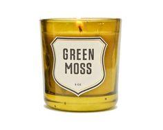 izola // green moss candle