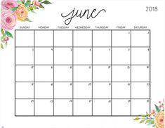 June 2018 Planner