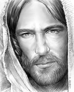 """Jesus of Nazareth  ~~by Greg Chapin:  And Jesus answered them, """"Go and tell John what you hear and see: 5 the blind receive their sight and the lame walk, lepers are cleansed and the deaf hear, and the dead are raised up, and the poor have good news preached to them. 6 And blessed is the one who is not offended by me.""""  --Matthew 11:4-6"""