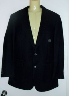 3d8b00101834 BROOKS-BROTHERS-MENS-BLACK-CAMEL-HAIR-SPORTS-COAT-JACKET-41L
