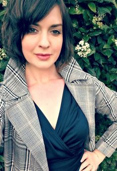 A classic black dress and trench look. Katie Portman shares her personal style and wears a Kerry O'Brine design. Classic Black Dress, Trench, Lifestyle Blog, Personal Style, Blazer, Heels, How To Wear, Dresses, Women