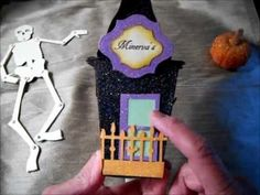 Witch's Haunted House - Treat Box