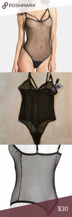 Hanky Panky sexy mesh body suit New with tags, super soft Hanky Panky Intimates & Sleepwear Chemises & Slips